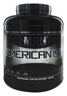 Muscle Gauge Nutrition - American Iso Whey Protein Vanilla Caramel - 5 lbs.