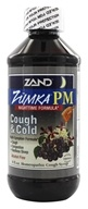 Image of Zand - Zumka PM Cough and Cold Homeopathic Cough Syrup Elderberry - 8 oz.