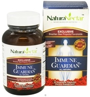 NaturaNectar - All Natural Immune Guardian - 30 Vegetarian Capsules by NaturaNectar