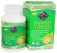 Image of Garden of Life - FucoThin Green With Svetol Green Coffee Bean Extract - 90 Vegetarian Capsules
