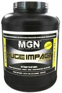Muscle Gauge Nutrition - Huge Impact All-In-One Supplement Vanilla - 5 lbs. (798304084412)