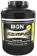 Image of Muscle Gauge Nutrition - Huge Impact All-In-One Supplement Vanilla - 5 lbs.