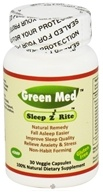 Image of Green Med - SleepzRite - 30 Vegetarian Capsules