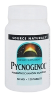 Image of Source Naturals - Pycnogenol Proanthocyandin Complex 50 mg. - 120 Tablets