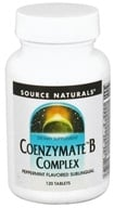 Source Naturals - Coenzymate B Complex Sublinguals Peppermint - 120 Tablets - $22.99