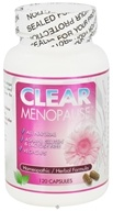 Clear Products - Clear Menopause Homeopathic/Herbal Relief Formula - 120 Vegetarian Capsules