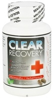 Clear Products - Clear Recovery Homeopathic/Herbal Formula - 60 Vegetarian Capsules, from category: Homeopathy