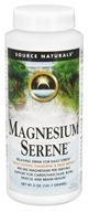 Source Naturals - Magnesium Serene Tangerine & Fruit Medley 800 mg. - 5 oz. (021078022077)