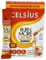 Image of Celsius - Your Calorie Reducing Drink Outrageous Orange - 7 Packet(s)