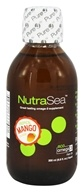Ascenta Health - NutraSea Eco Omega-3 Liquid Fish Oil Tropical Mango Flavor - 6.8 oz. Formerly Balanced EPA & DHA Omega 3 Supplement