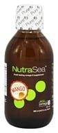 Image of Ascenta Health - NutraSea Balanced EPA & DHA Omega 3 Supplement Mango - 6.8 oz.