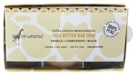 Out Of Africa - Organic Shea Butter Moisturizing Bar Soaps Gift Set - 3 Bars, from category: Personal Care