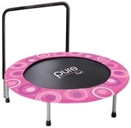 Pure Fun Trampolines - Kids Super Jumper Trampoline 9009SJ Pink - 48 in. by Pure Fun Trampolines
