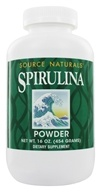 Source Naturals - Spirulina Powder - 16 oz. (021078006404)