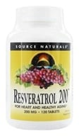 Source Naturals - Resveratrol 200 mg. - 120 Tablets