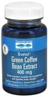 Image of Trace Minerals Research - Pure Svetol Green Coffee Bean Extract 400 mg. - 30 Capsules CLEARANCE PRICED