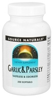 Source Naturals - Garlic & Parsley - 250 Softgels