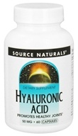 Source Naturals - Hyaluronic Acid 50 mg. - 60 Capsules (021078018964)