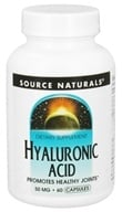 Source Naturals - Hyaluronic Acid 50 mg. - 60 Capsules by Source Naturals