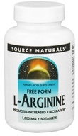 Source Naturals - L-Arginine Free Form 1000 mg. - 50 Tablets - $7.29