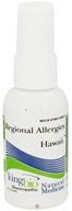 King Bio - Homeopathic Regional Allergies Hawaii Natural Medicine Spray - 2 oz. by King Bio