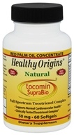 Healthy Origins - Tocomin SupraBio 50 mg. - 60 Softgels (603573164751)