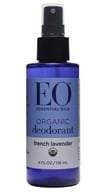 EO Products - Deodorant Organic Spray Fresh Lavender - 4 oz.