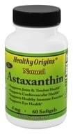 Healthy Origins - Astaxanthin 4 mg. - 60 Softgels - $15.55