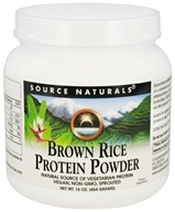 Source Naturals - Brown Rice Protein Powder - 16 oz. by Source Naturals