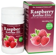Dr. Venessa's Formulas - Raspberry Ketone Elite 200 mg. - 60 Vegetarian Capsules, from category: Diet & Weight Loss