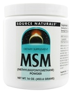 Source Naturals - MSM Methylsulfonylmethane Powder - 16 oz.