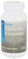Image of Global Health Trax (GHT) - Active Systemic Enzymes - 60 Capsules