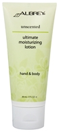 Aubrey Organics - Hand & Body Moisturizing Lotion Ultimate Unscented - 3 oz. by Aubrey Organics