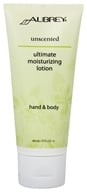 Aubrey Organics - Hand & Body Moisturizing Lotion Ultimate Unscented - 3 oz. - $5.19