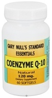Gary Null's - Co-Enzyme Q-10 120 mg. - 60 Softgels CLEARANCE PRICED, from category: Nutritional Supplements