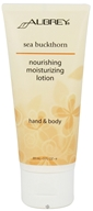 Aubrey Organics - Hand & Body Moisturizing Lotion Nourishing Sea Buckthorn - 3 oz. - $5.19