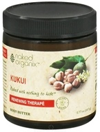 Organix South - Naked Organix Kukui Body Butter Fragrance Free - 3.77 oz.