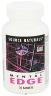Source Naturals - Mental Edge - 30 Tablets