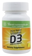 Image of Global Health Trax (GHT) - Vitamin D3 Plant Based 5000 IU - 60 Capsules