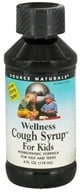 Source Naturals - Wellness Cough Syrup For Kids - 4 oz. by Source Naturals