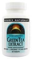 Source Naturals - Green Tea Extract 500 mg. - 60 Tablets (021078018452)