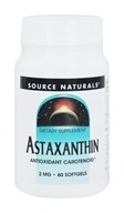 Source Naturals - Astaxanthin Antioxidant Carotenoid 2 mg. - 60 Softgels