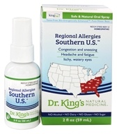 King Bio - Homeopathic Regional Allergies Southern U.S. Natural Medicine Spray - 2 oz. by King Bio