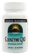 Source Naturals - Coenzyme Q10 100 mg. - 30 Softgels