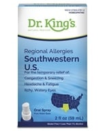 King Bio - Homeopathic Regional Allergies Southwestern U.S. Natural Medicine Spray - 2 oz.