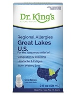 King Bio - Homeopathic Regional Allergies Great Lakes U.S. Natural Medicine Spray - 2 oz.