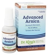 King Bio - Homeopathic Advanced Arnica Natural Medicine Spray - 2 oz. (357955598428)
