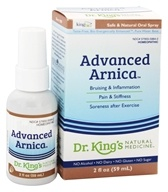 King Bio - Homeopathic Advanced Arnica Natural Medicine Spray - 2 oz. by King Bio