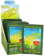 Brightcore Nutrition - Sweet Wheat 2GO! Wheat Grass Juice Powder - 15 Packet(s) (689076485296)