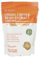 Image of ReBody - Green Coffee Bean Extract Chews with Svetol Vanilla Latte - 30 Soft Chews
